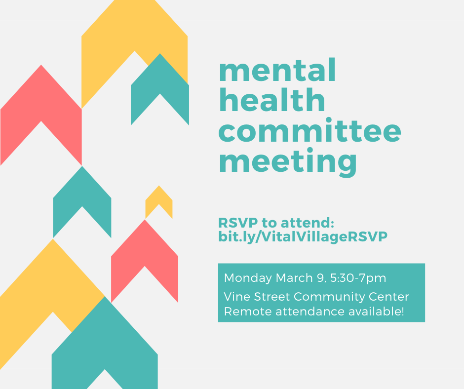 March 9 5:30-7PM at Vine Street Community Center (339 Dudley St, Roxbury). Virtual attendance possible